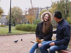 Modest Russian girl Marselina Fiore prohibited almost dread anal slut and good cock sucker