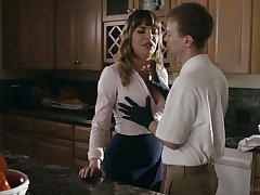 Elegant mommy Dana DeArmond bangs her stepson and give shim a estimable BJ