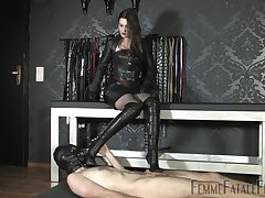 Latex sex games everywhere such a starving inside bitch Victoria Valente