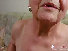 OmaGeiL Faultless Granny Juicy Pussy Closeup Blear