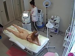 Hidden Cam - Russian Salon Depilation - Compilation 01