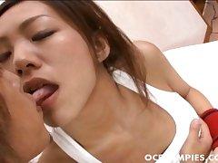 Kaoru Hayami gets her twat rammed superbly after blowjo - Less at hotajp.com
