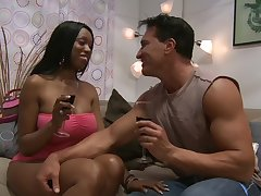 Interracial honour making with big black butt wife Codi Bryant