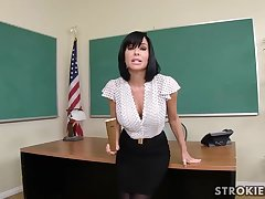 Veronica Avluv is a sumptuous dark haired with immense, collapsing hooters who luvs to blow various hard-ons