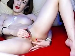 flimsy russian cam-bitch heavy make-up