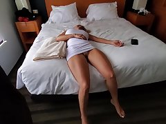 Knocked out blonde with obese boobs is intermittently become a fuck doll for a horny guy