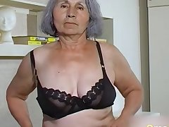 Homemade granny compilation be worthwhile for hairy pussies drilled with sex toys