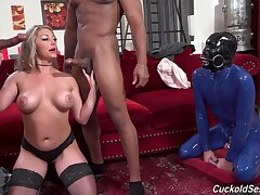Dialectic wed Mazee moans for ages c in depth having sex with one black dudes