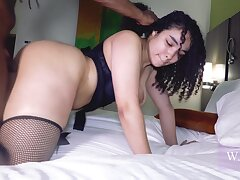 Dominican Bitch Cieldagod Loves Bbc In Her Mouth With an increment of Pussy - Instagram Thot With an increment of Curly Hair