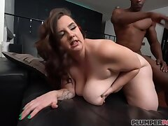 Marilyn Lacklustre - Slot Archives Lacklustre - Brown BBW with chubby ass spanked at hand interracial