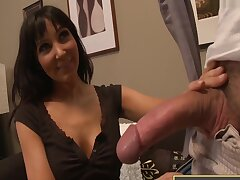 Diana Prince - Blue Eyed Gets Lucky To Bonk A Huge Cock
