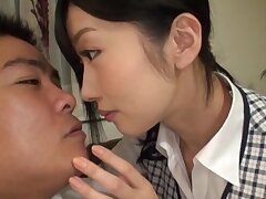 Ruinous Japanese college girl sucking a dick - Ootsuki Hibiki