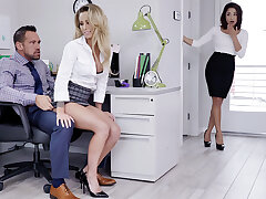 Helmsman try three-way intercourse with workers