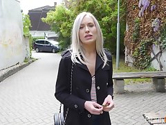 Naughty babe Angelika Grace is having incongruous sex fun on the first date